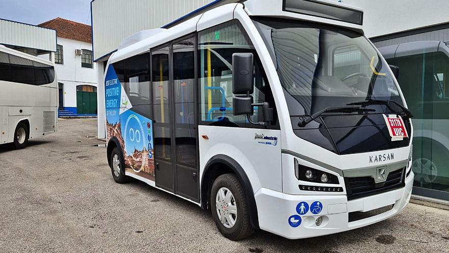 Un microbús 100% eléctrico conectará todas las parroquias de Nigrán en 2022