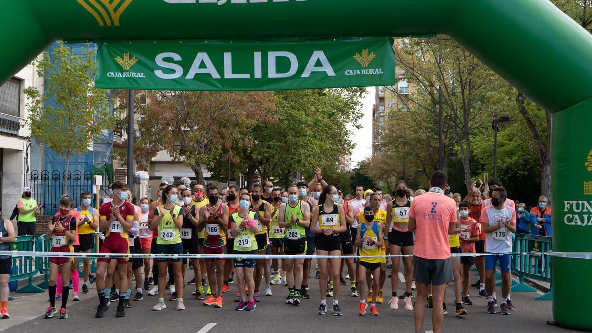 GALERÍA   La carrera de la Guardia Civil de Zamora vuelve a latir