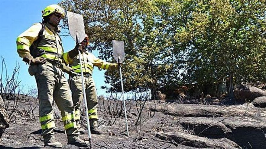 Los fuegos en Grisuela y Moral de Sayago, extinguidos