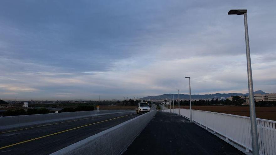 Neue Brücke über den zweiten Ring von Palma de Mallorca freigegeben