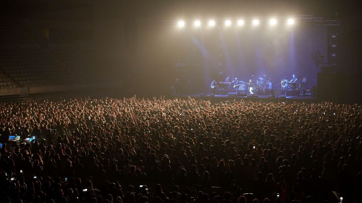 Love of Lesbian durant el seu concert el mes de març passat a Barcelona.