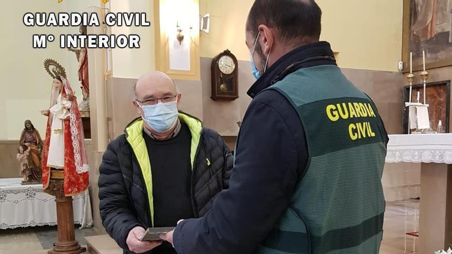 La Guardia Civil detiene a los autores de los robos en las iglesias de Trubia y San Claudio