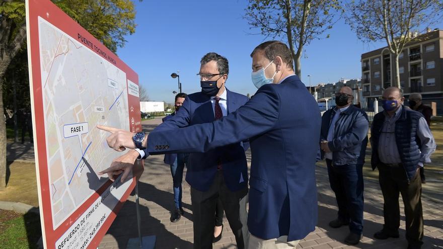 250.000 euros para renovar la Calle Mayor de Puente Tocinos