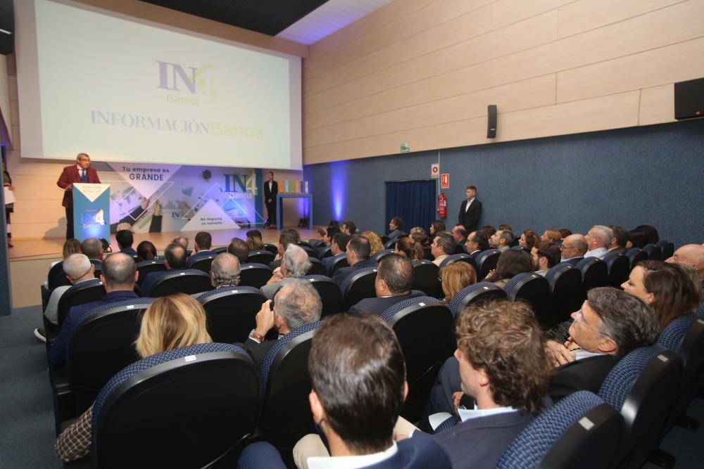 Las compañías alicantinas Grupo Dropalia, Grupo Inmobiliario TM, Levantina, SHA Wellness Clinic y Robotikids reciben este año los galardones convocados por INFORMACIÓN y Bankia
