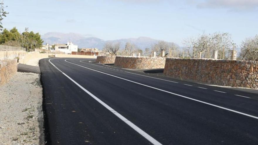 Neue Umgehungsstraße bei Algaida eingeweiht