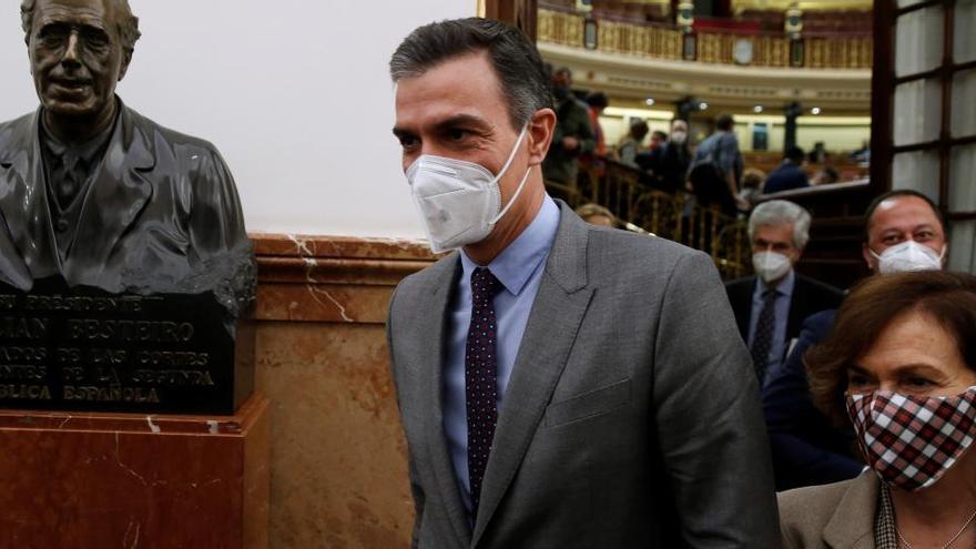 Sánchez comparecerá el 16 de diciembre para dar cuenta del estado de alarma