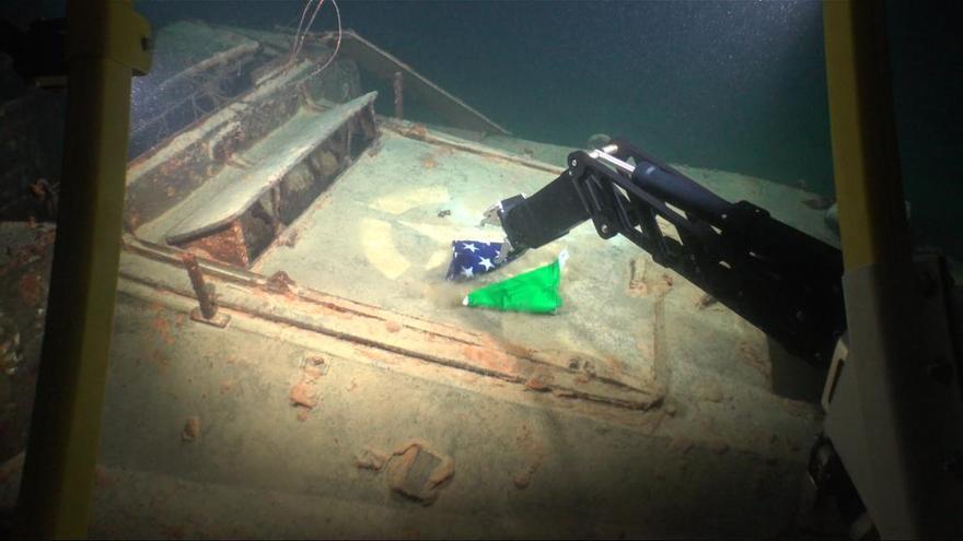 L'Ictineu 3 participa en una campanya arqueològica al Llac de Garda a Itàlia