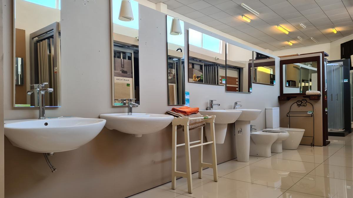 uartos de baño, sanitarios y toalleros de la marca Gibeller