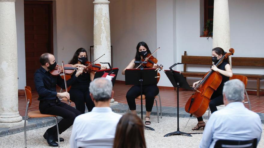 El Cuarteto Jordán y Auxi Belmonte abren el Gala Fest