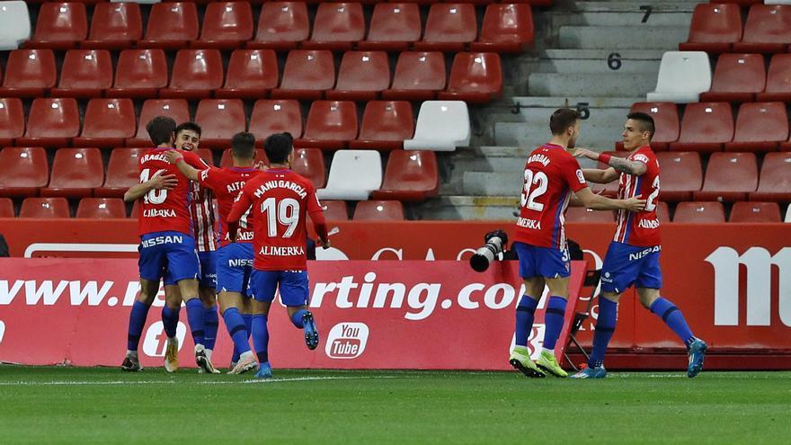 La crónica del Sporting-Lugo: Gaspar relaja el estado de alarma