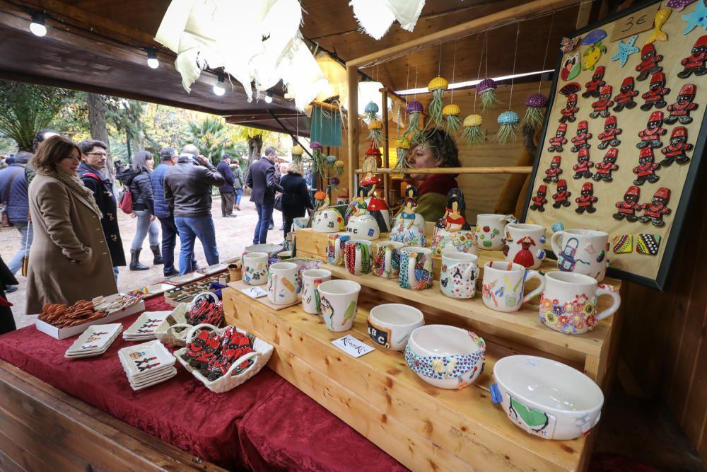 Imágenes del Mercat de Nadal de Alcoy.