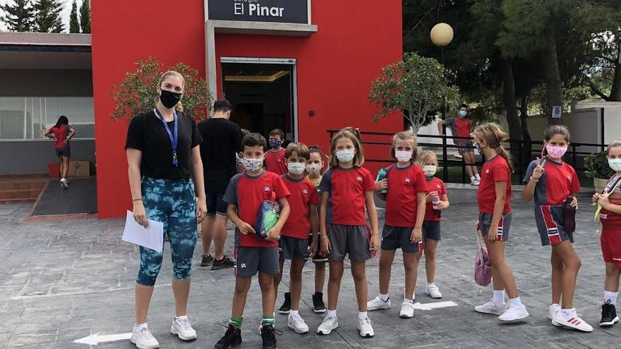 El CD Colegio El Pinar reinicia su actividad deportiva siguiendo los protocolos sanitarios