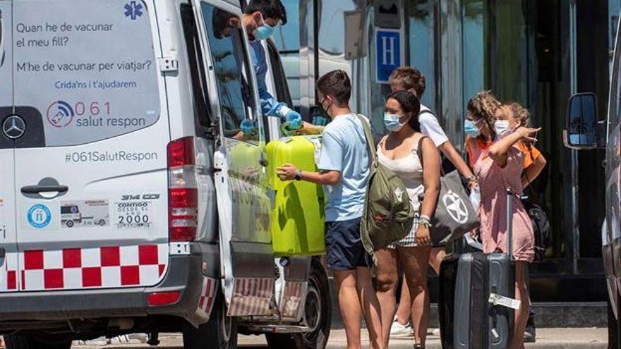 La Junta ofrece el traslado en autobús a los estudiantes que este jueves regresarán a sus domicilios desde Mallorca