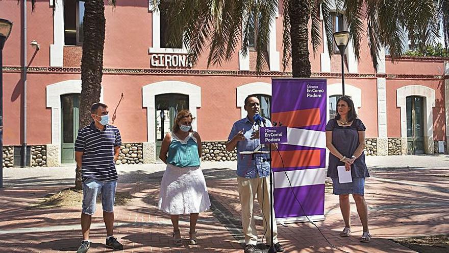 Comuns i Podem tornaran a fer coalició a Girona