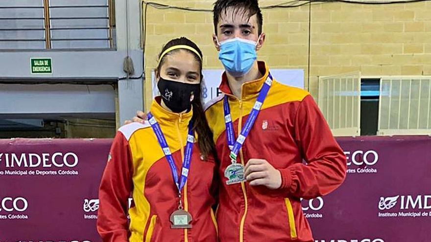 Plata y bronce para el Taekwondo Ternera de Aliste