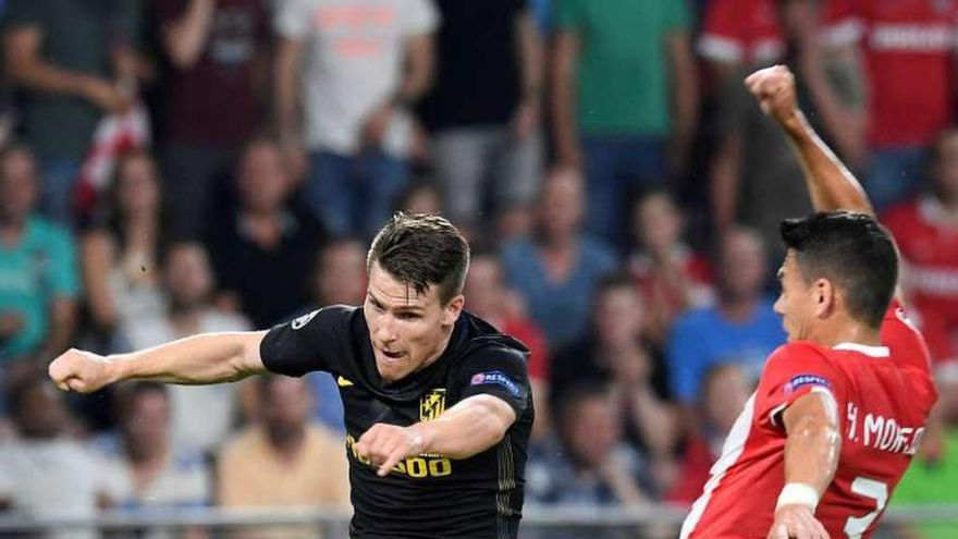 Saúl y Oblak doman al PSV y dan los tres puntos al Atlético