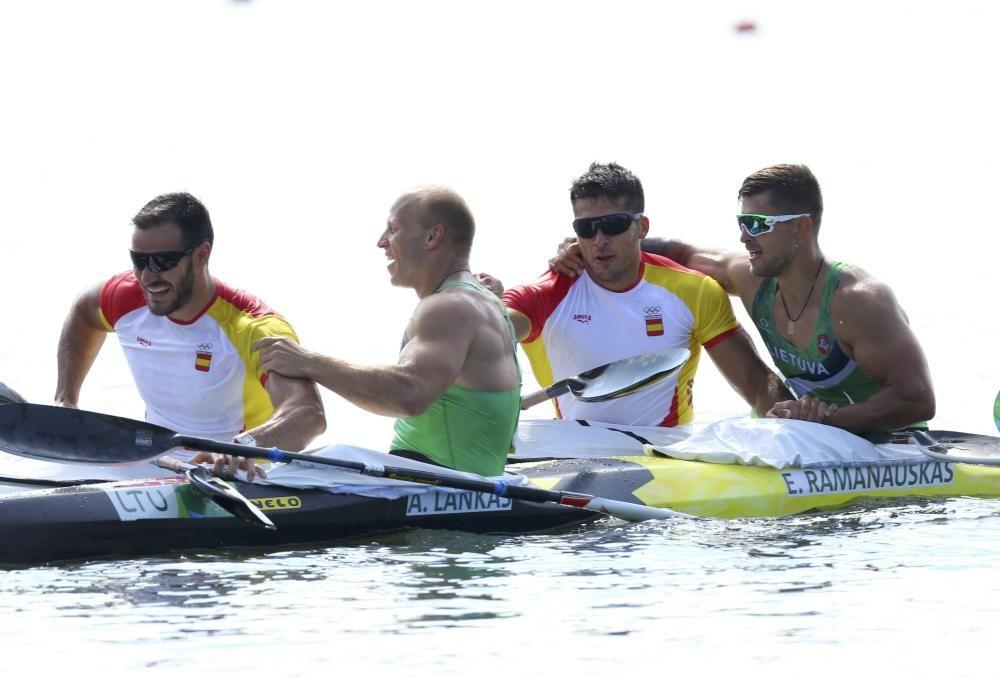 La final en la que Toro y Craviotto rematan con oro olímpico // REUTERS