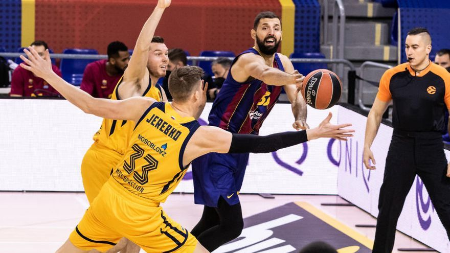La defensa del Barça doma la anarquía del Khimki