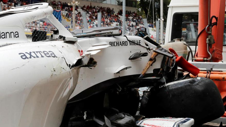 Ericcson sale ileso de un espectacular accidente en el Gran Premio de Italia