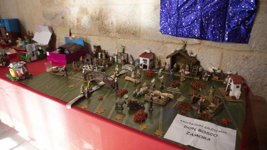 La exposición de belenes del Seminario de Zamora, en imágenes