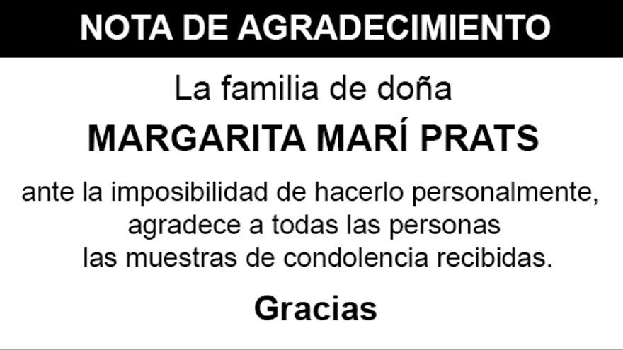 Nota Margarita Marí Prats