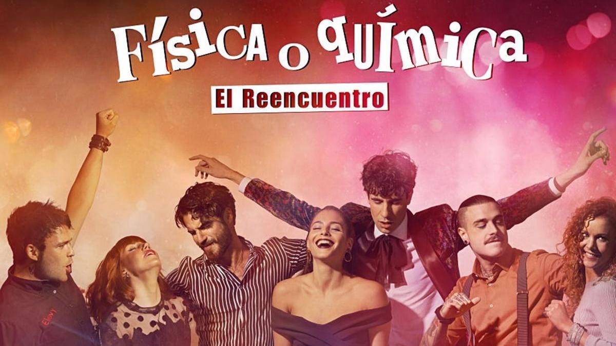 Cartel promocional de 'Física y Quimica: el reencuentro'.