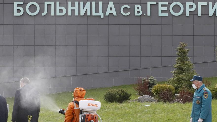 Al menos cinco muertos en un incendio de una UCI de San Petersburgo
