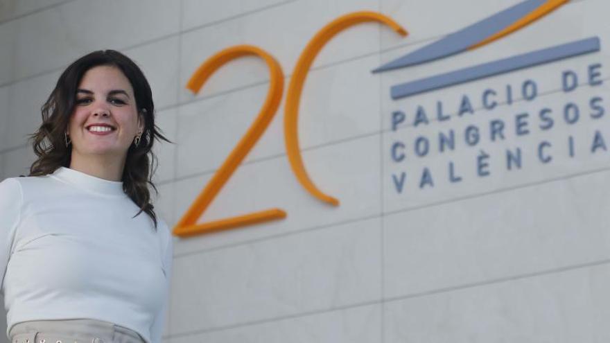 """Sandra Gómez: """"En 20 años, el Palacio de Congresos ha  generado un impacto de 1.100 millones, 36 veces más de  lo que costó"""""""