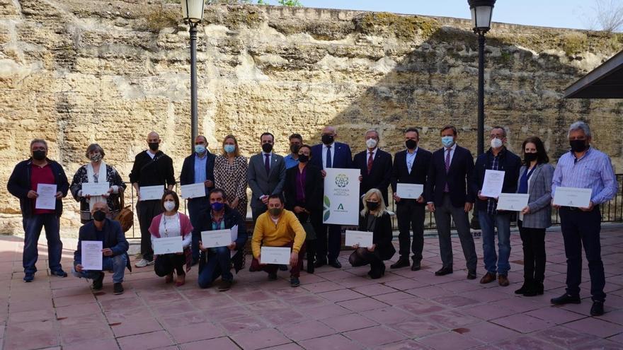 La Junta presenta en La Rambla la nueva marca de la artesanía andaluza