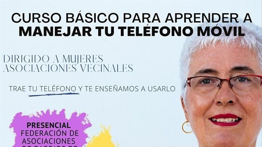 La FABZ organiza un curso sobre aplicaciones básicas del móvil dirigido a mujeres