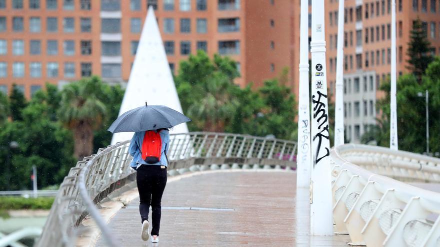 El tiempo en Valencia en el puente de octubre: brusco giro con lluvia y frío para el puente del 9 d'Octubre y el Pilar