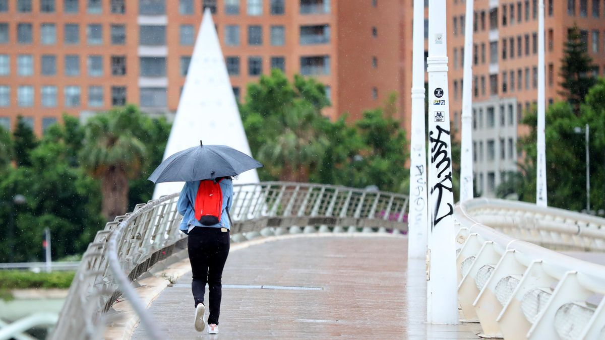 El tiempo en Valencia para el puente del 9 d'Octubre y el Pilar: lluvia y frío para el fin de semana.