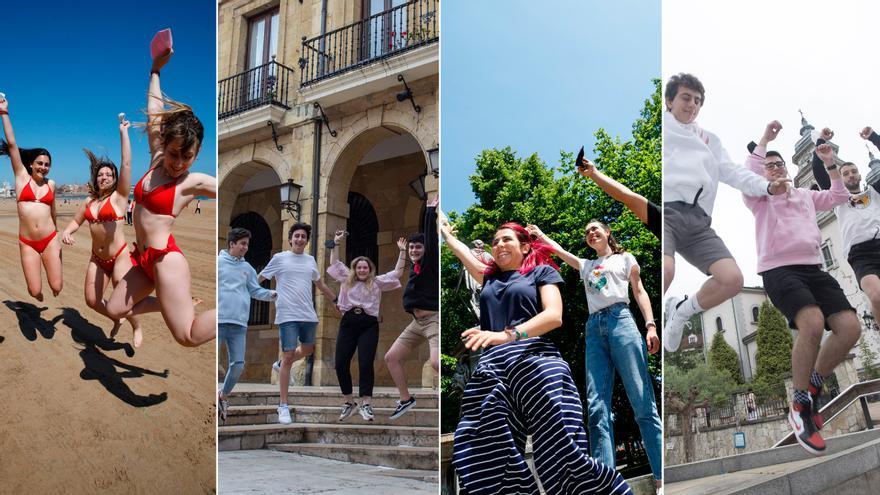"""La pandemia remite y los jóvenes asturianos ansían recuperar la vida perdida: """"Este verano pinta mucho mejor"""""""
