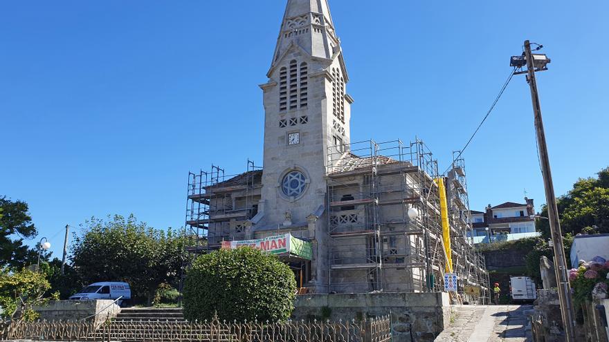 Sabarís blinda su iglesia centenaria contra las humedades por 200.000 euros