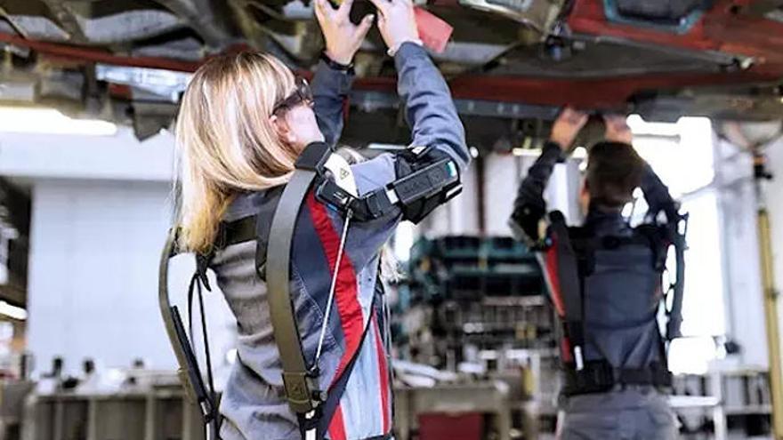 Audi probará exoesqueletos en empleados en una factoría de Alemania