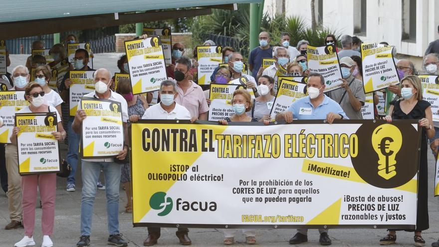 """Córdoba se suma a las movilizaciones de Facua contra el """"tarifazo eléctrico"""""""