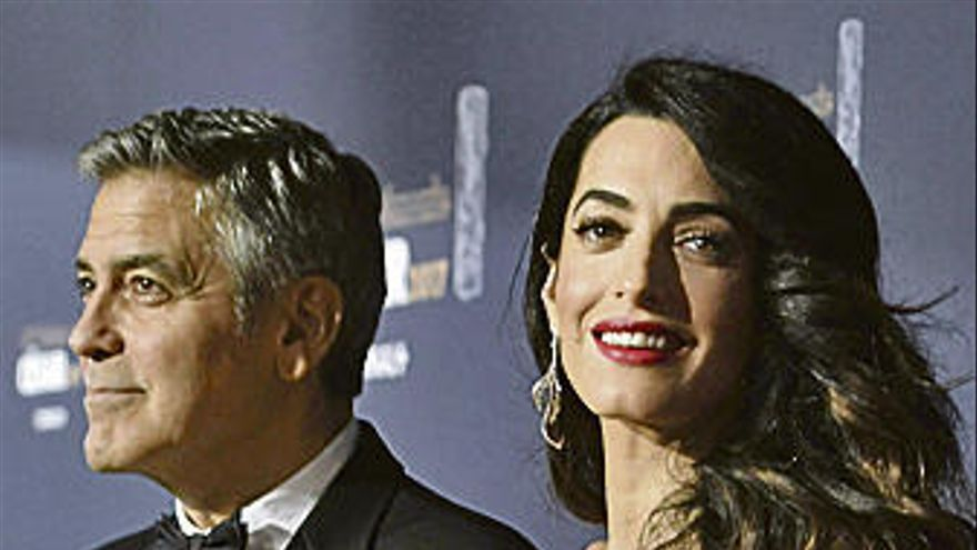 Los Clooney, padres de gemelos