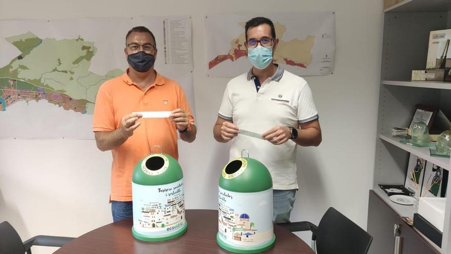 El Campello obtiene una de las ocho banderas verdes de Ecovidrio en España que reconoce su compromiso con el reciclaje