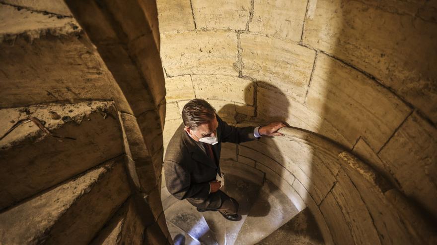 La adecuación de la torre de la Catedral para el turismo llevará, al menos, un año