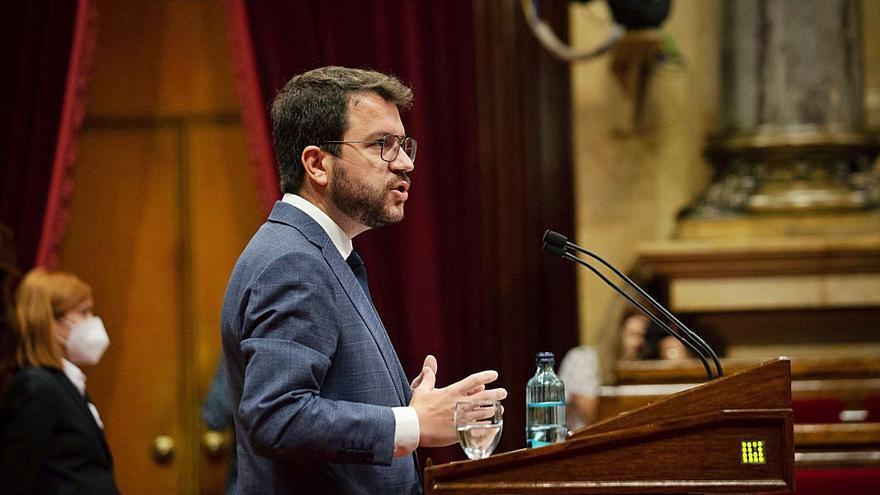 Aragonès i els socialistes blinden la taula de diàleg malgrat el cas Puigdemont