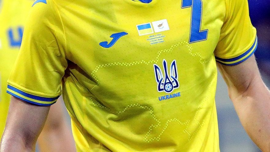 Rusia se queja ante la UEFA por la inclusión de Crimea en la camiseta de Ucrania