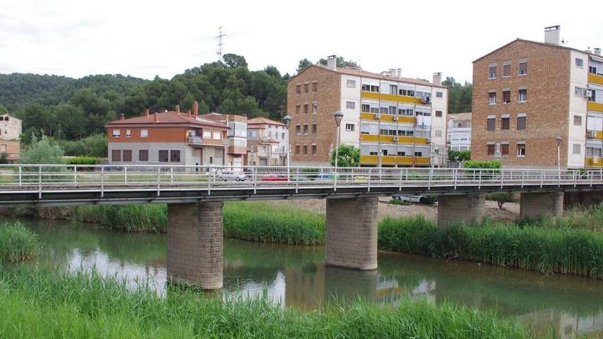 Sant Mateu rep un estudi per millorar el pont sobre el Cardener a Valls de Torroella