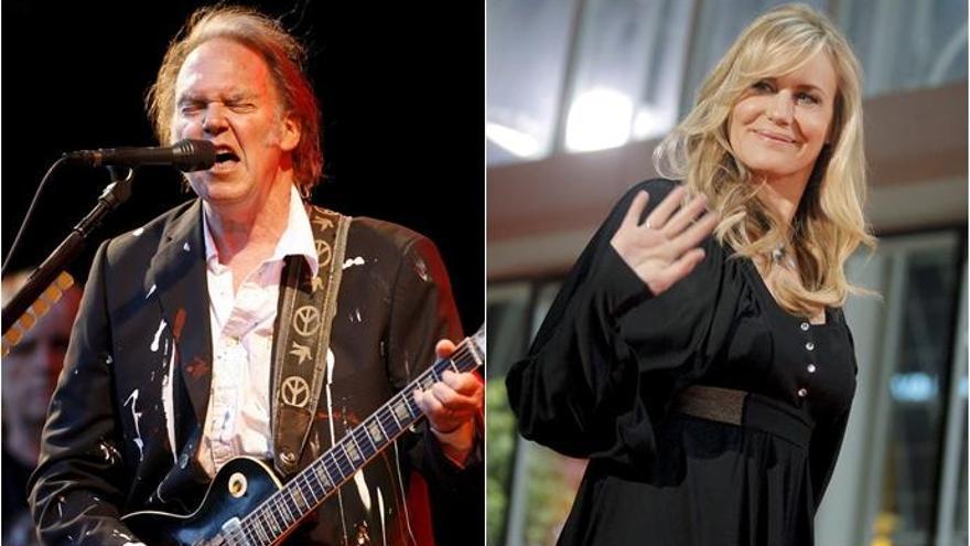 Neil Young y Daryl Hannah se casan en secreto