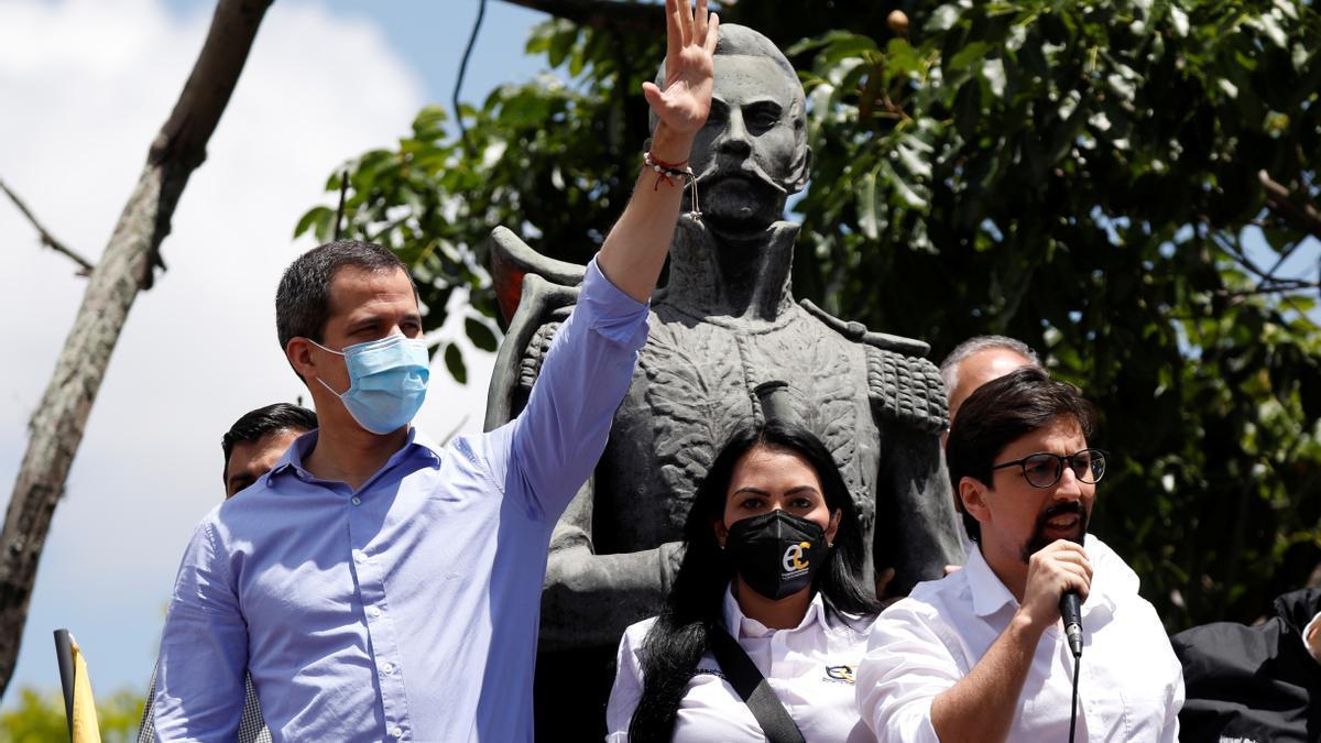 Juan Guaidó, en una imagen de archivo