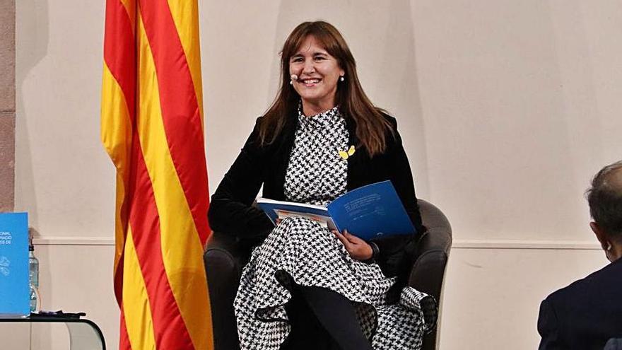 JxCat es queda sola a favor de la reforma de reglament per blindar Laura Borràs