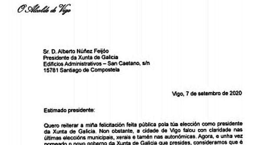 """Feijóo ofrece """"colaboración"""" a Caballero: """"El momento exige disposición al trabajo conjunto"""""""