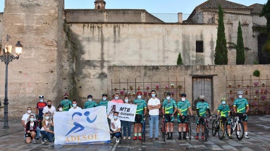 Adesol de Palma del Río pone rumbo al Veleta en beneficio de enfermos de síndrome de Ménière