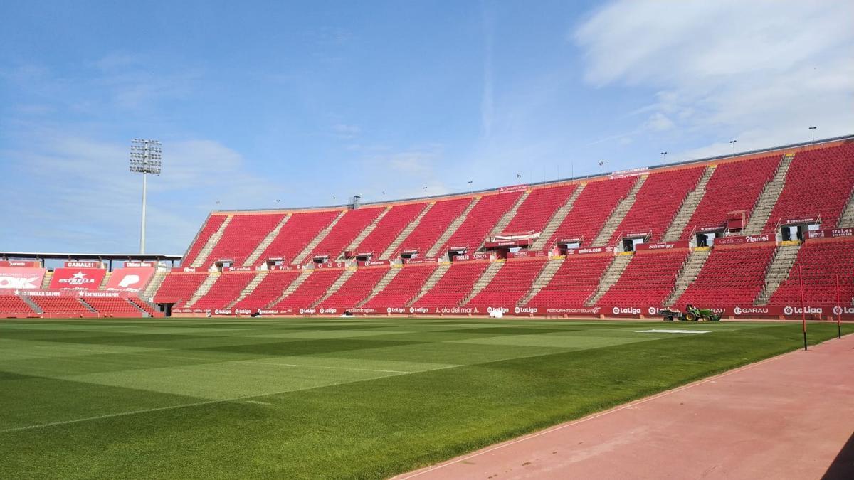 Son Moix podrá albergar a cerca de 8.500 espectadores en los encuentros frente al Betis y al Espanyol.