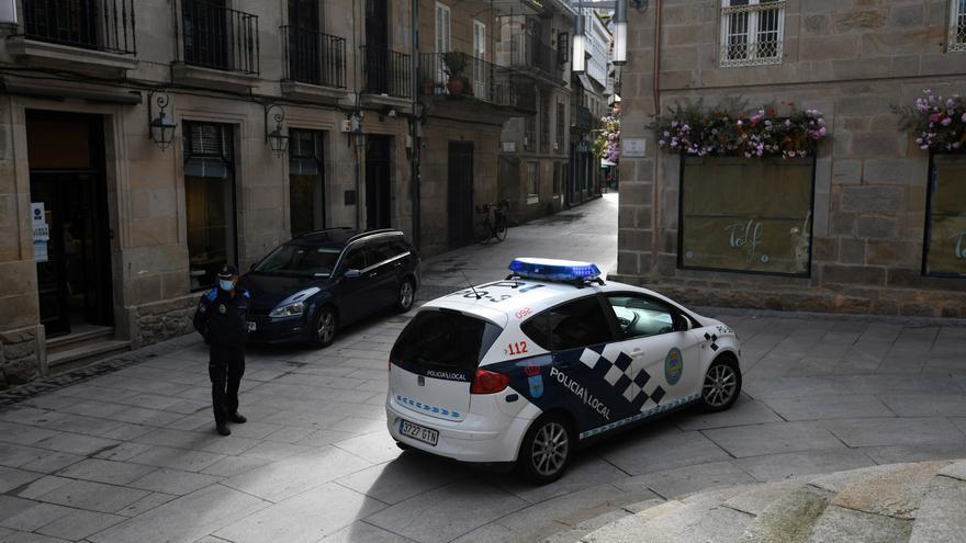 Detenido en Pontevedra por propinar un cabezazo a su pareja