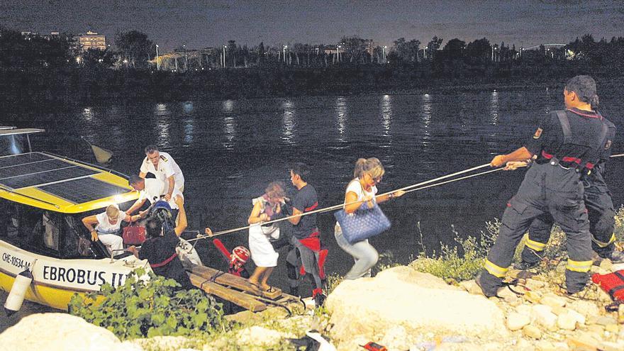 Rescates en el Ebro, una prueba para el sexto sentido